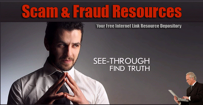 Scam, Fraud, Rip-off and Consumer Complaint Resources